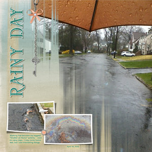 April Monthtly Challenge # 1 Rainy Day