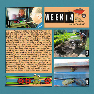 Project Life 2020 Week 14