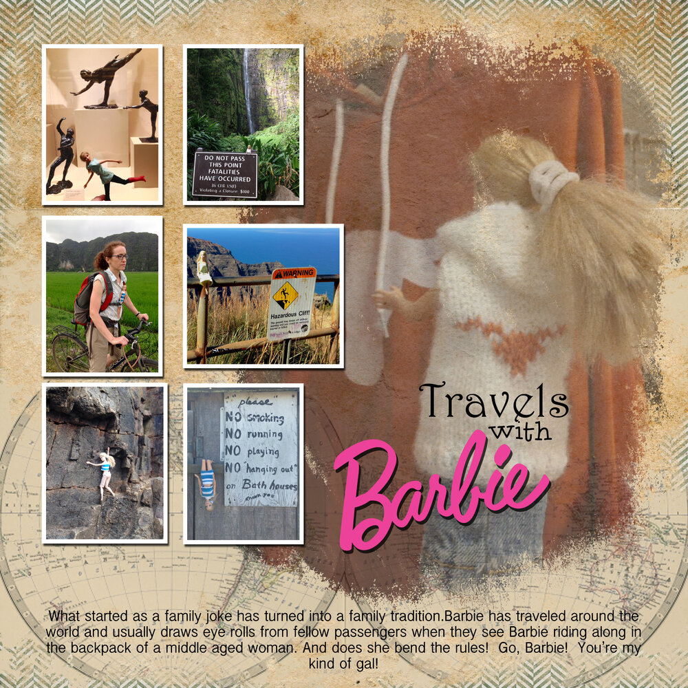 Travels with Barbie