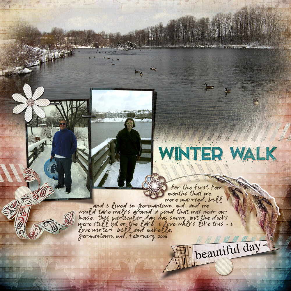 WW Background Challenge: Winter Walk