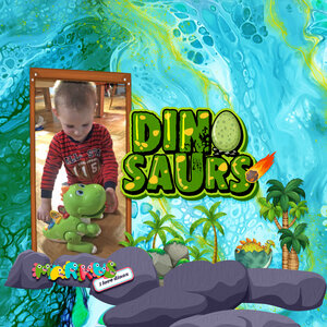 """Featuring """"Dinosaurs"""""""