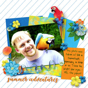 Summer Adventures - Tropical Island Collection