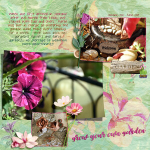 Fairy Garden (Heartmade Scrapbook)