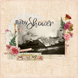 Evelyn's baby shower