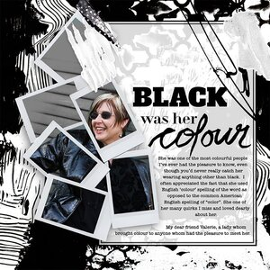 Black Was Her Colour