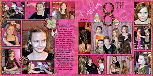 Karlie's 8th Birthday Party
