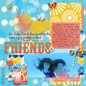 Summer Friends - Hot Summer by Heartmade Scrapbook