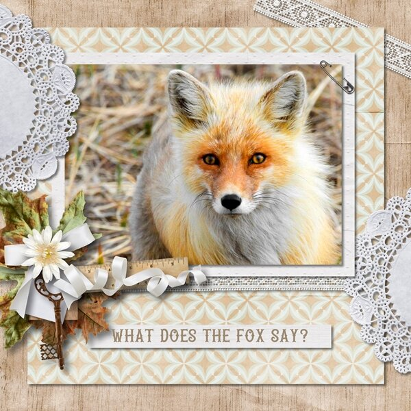 What Does the Fox Say?, Prompt #21