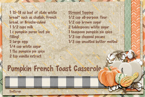 Pumpkin French Toast-front