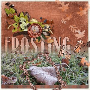 Frosting Fall