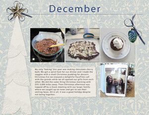 December Project Life 2