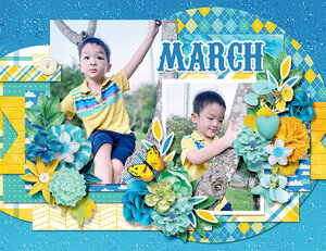 2021 Quickpage Calendars - March
