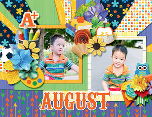 2021 Quickpage Calendars - Aug