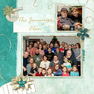 The Jennings Clan for the the Tues. Newsletter Challenge
