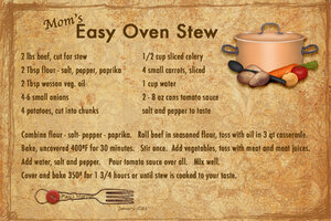 Jan '21 SG Recipe Swap: Soups - Mom's Easy Oven Stew