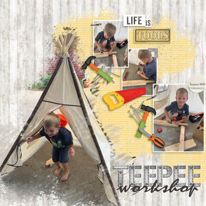 Teepee-workshop