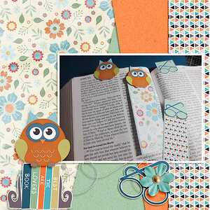 Feb Monthly #3 - National Library Lovers Day - Bookmarks