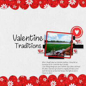 February Monthly #1 - Valentine Traditions