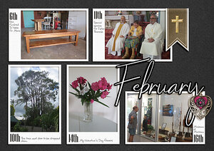 Project Life 2021 - February - Photo page