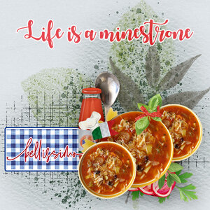 Life is a minestrone