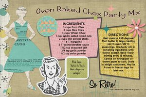 Celestine_Oven Baked Chex Mix