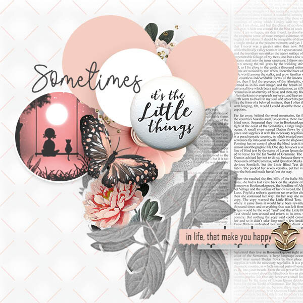 Newsletter Challenge - It's the little things
