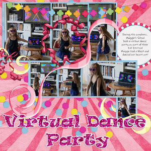 virtual dance party (WW sequence)