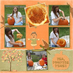 page two pumpkin carving