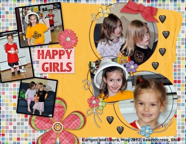 Happy Girls, May 2012