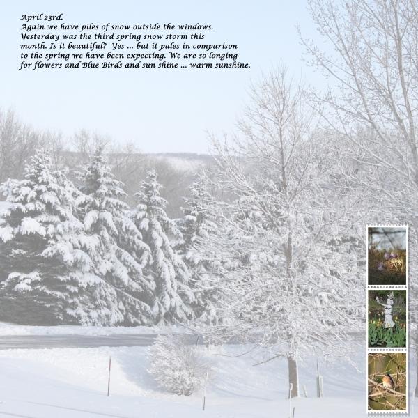 Aoril Snows