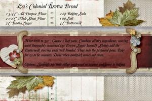 Colonial Brown Bread