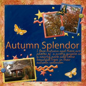 Autumn Splendor--Weekend Wildcard Challenge 2-6-16