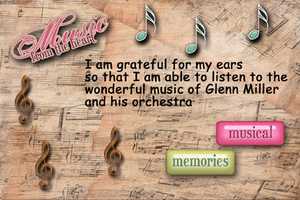 Glenn Miller Page Two -- Day 18 Sound of Music