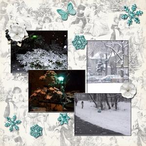 Snow! Snow! Snow! -- Saturday 11-29-14 Color Challenge