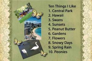 10 Things I Like -- Day 2