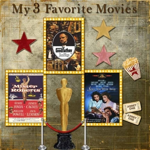 Day 11 -- My 3 Favorite Movies
