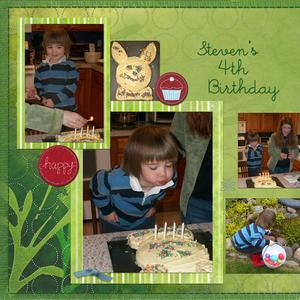 Easter & Steven's 4th Birthday