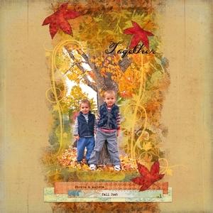 Scraplift: My Fall Boys