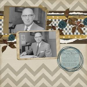 1955 grandpa oscar at his desk