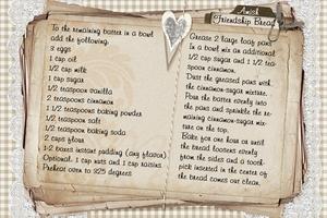 Amish Friendship Bread Recipe (part 3 of 3)