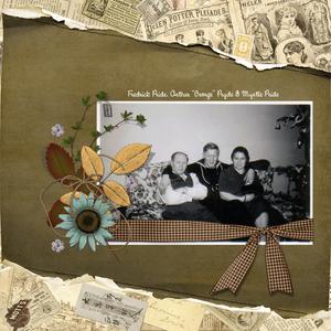 Scraplift - Great Grandparents