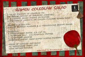 Ramen Coleslaw Salad