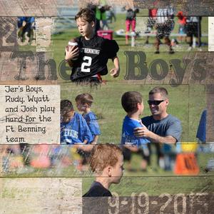 Jer's Boys & Football