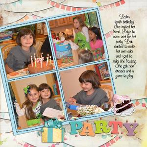 Leah's birthday