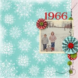 sledding 1966