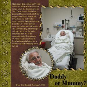 Daddy or Mummy?