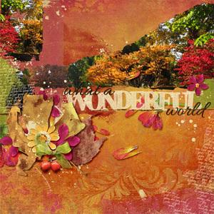Wonderful World in Fall (Oct14 SS Club)