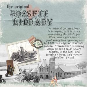 Cossett Library
