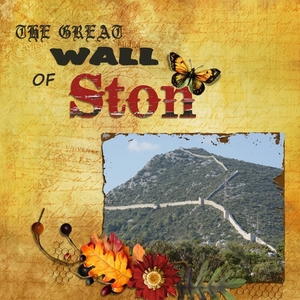 Great Wall of Ston