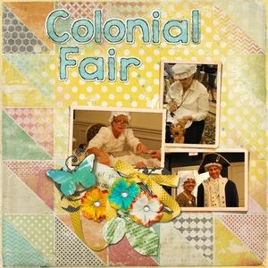 Aug. Club - Colonial Fair